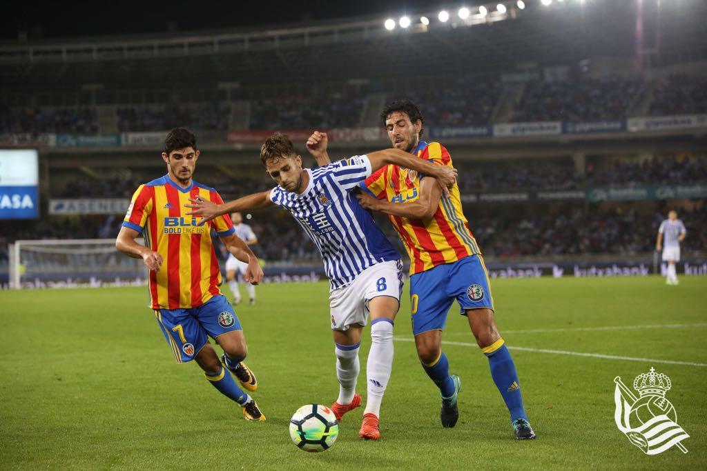 Cuarto Arbitro   Real Sociedad Vs Valencia La Liga 2017 2018