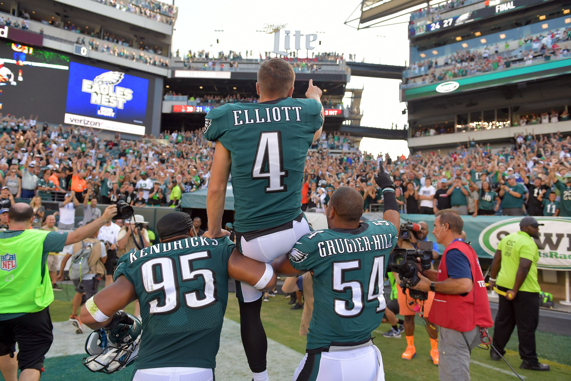 This moment. #FlyEaglesFly https://t.co/PmhwNFWN2V