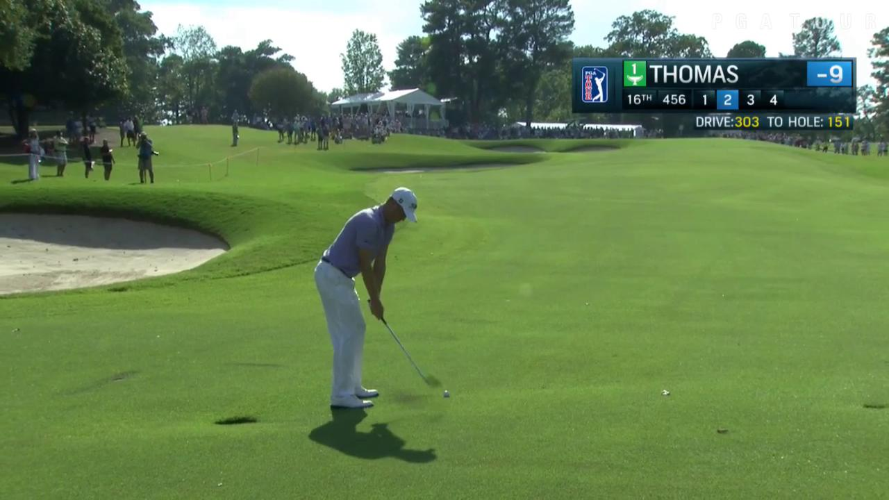 8 feet for birdie.  @JustinThomas34 is feeling it. https://t.co/SeZa0ZmYfx