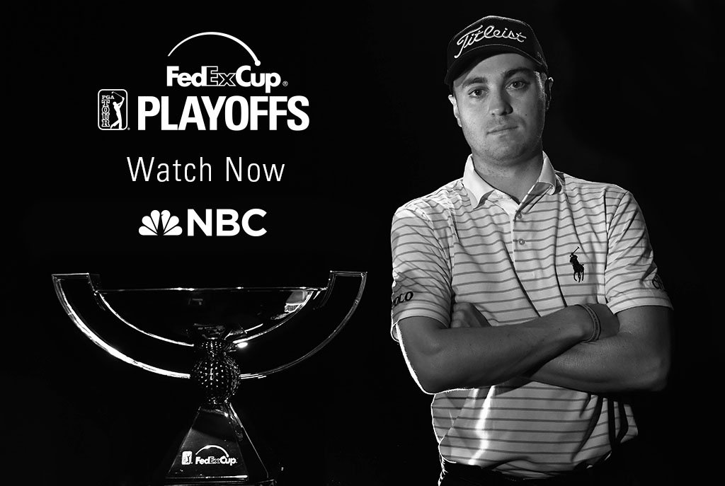 Justin Thomas is eyeing his first #FedExCup. Watch the drama unfold @PlayoffFinale now on NBC! https://t.co/xXVC9ptxM4