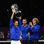 Roger Federer leads Team Europe to victory in first Laver Cup