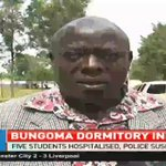 Five students hospitalised in Bungoma dormitory inferno