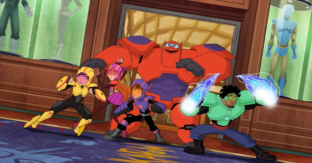 You Have to See this Sneak Peek at #BigHero6 The Series