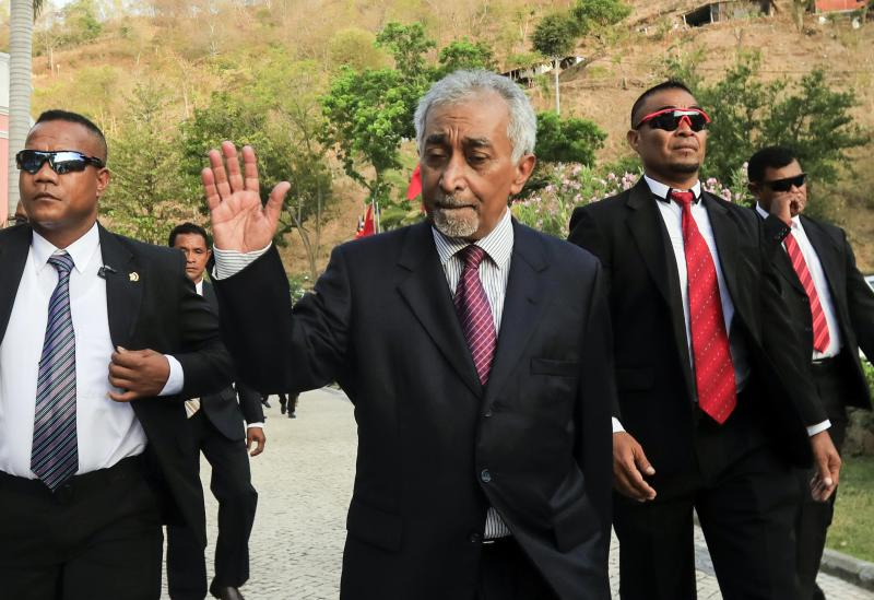 Singapore PM Lee Hsien Loong congratulates new Timor Leste counterpart Mari Alkatiri