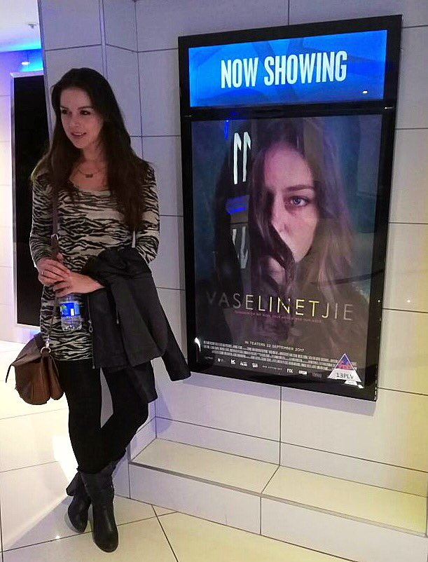 RT @Christia_Visser: Such a beautiful #Film @vaselintjiefilm ❤️👏📽🎬 Don't miss it #NowShowing #SupportLocal #Talent...