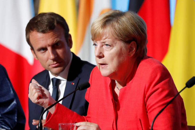 German vote could doom Merkel-Macron deal on Europe