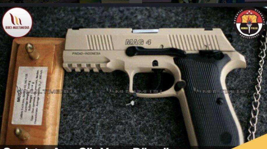 Ini Spesifikasi Pistol MAG 4 yang Dipesan Polri dari Pindad https://t.co/MrHg1yDSSg https://t.co/tWejOSVsDC