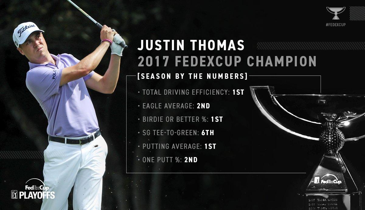A statistical look at @JustinThomas34's season. https://t.co/ImB32AN5ek