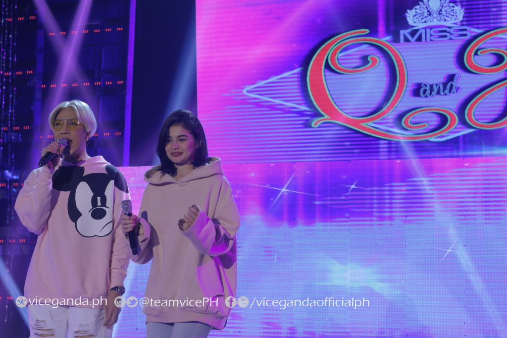 RT @teamvicePH: Witty and Pretty Candidates na ang maglalaban sa Miss Q and A! #ShowtimeYesitsLunes https://t.co/KjcDW74CXp