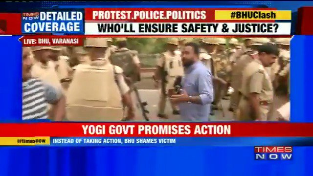 BHU clash intensifies, now Samajwadi Party stages protest #BHUClash