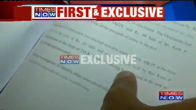 Enforcement Directorate's crackdown on former Finance Minister's son Karti Chidambaram begins