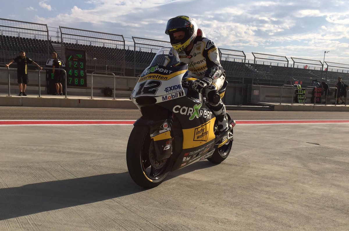 test Twitter Media - It never stops! A host of #Moto2 and #Moto3 riders are back on track at Aragon today for a day of testing 💪 https://t.co/qKvDIJVFS5