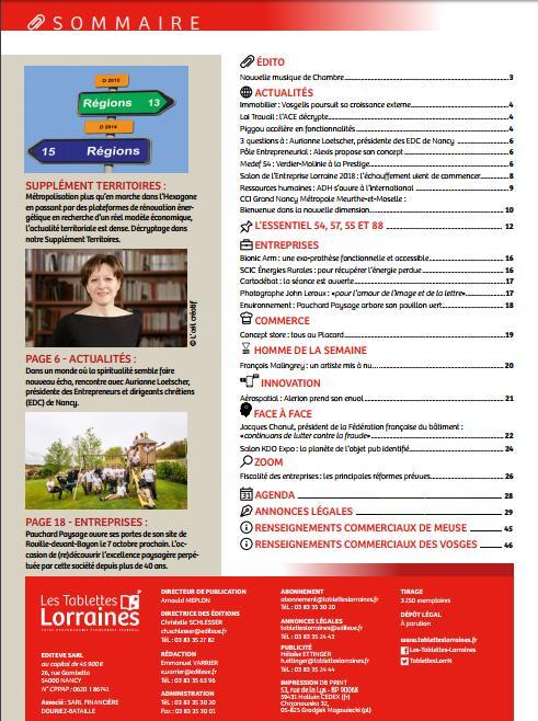 test Twitter Media - Découvrez le dernier numéro des Tablettes Lorraines en kiosque dès aujourd'hui! #code_de_travail #environnement #aérospatial #bâtiment https://t.co/HDMmns1beA