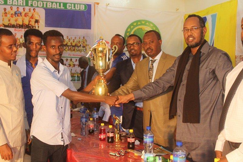 Maiden Somalia football league Puntland State concludes