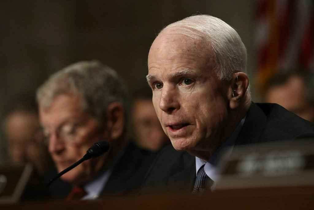 Sen. McCain calls brain cancer prognosis 'verypoor'