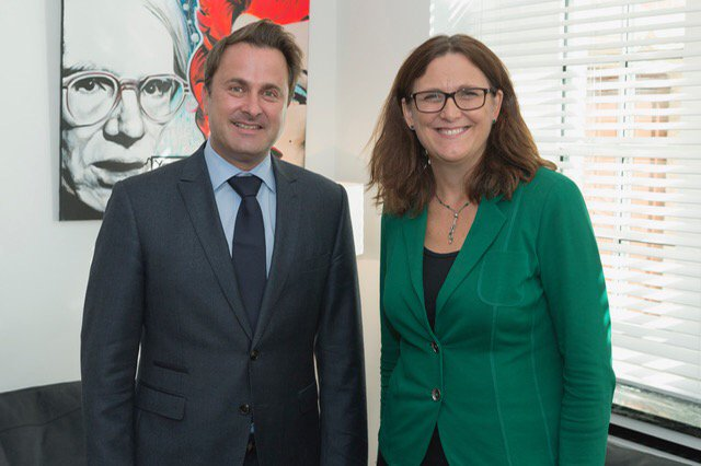 test Twitter Media - Nice to catch up with my friend PM @Xavier_Bettel . Discussed trade agenda and current European matters https://t.co/Z410sjra4y