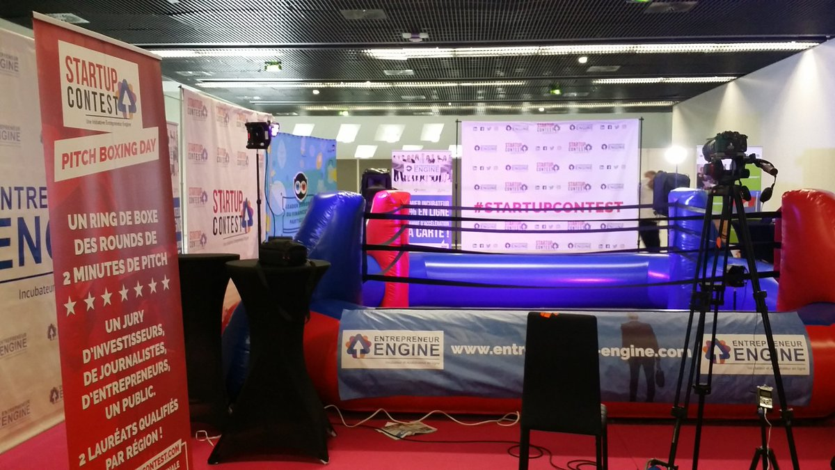 Excellent concept le #pitchboxingday au @SalonSME #SalonSME ! https://t.co/RbCWUVXHuN