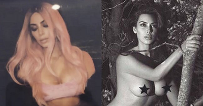 Kim Kardashian is in A LOT of trouble for this naked Instagram picture...