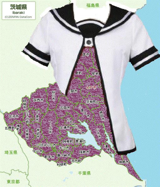 形が七森中制服(ゆるゆり)っぽい