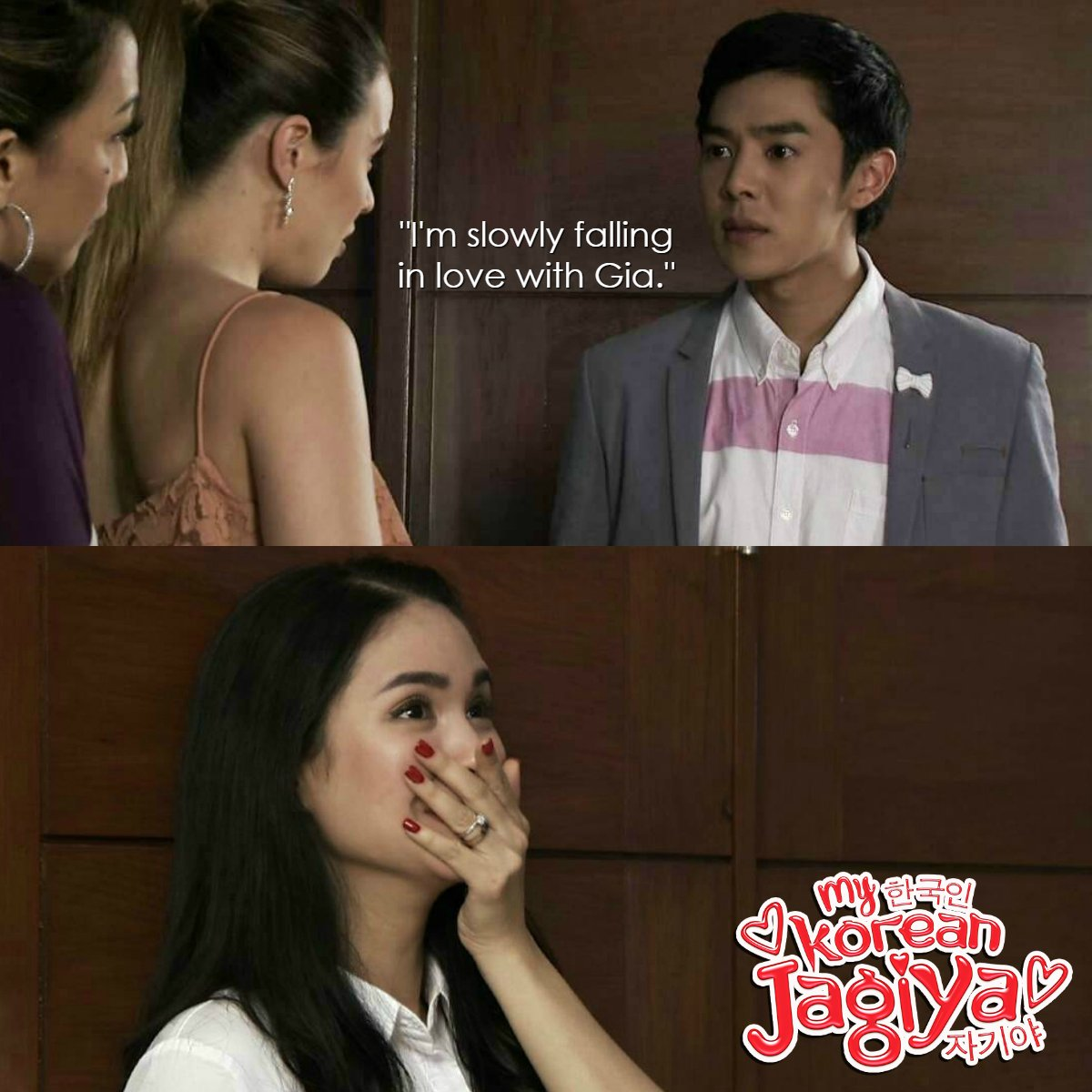 RT @GMADrama: PAK! Ansabe ni Jun Ho oppa?! Gia, pwedeng kumalma! 😍  #MKJFamBamBlues | https://t.co/kQ0dBw3OUd https://t.co/fZ3DpMV2fd