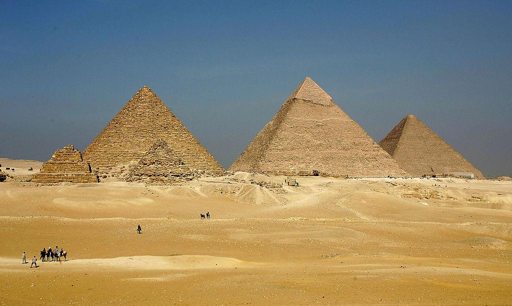 An ancient text holds clues to the mystery of who built Egypt's Great Pyramid