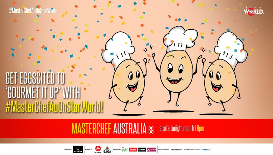 We know you are excited for the new season of #MasterChefAuOnStarWorld...
