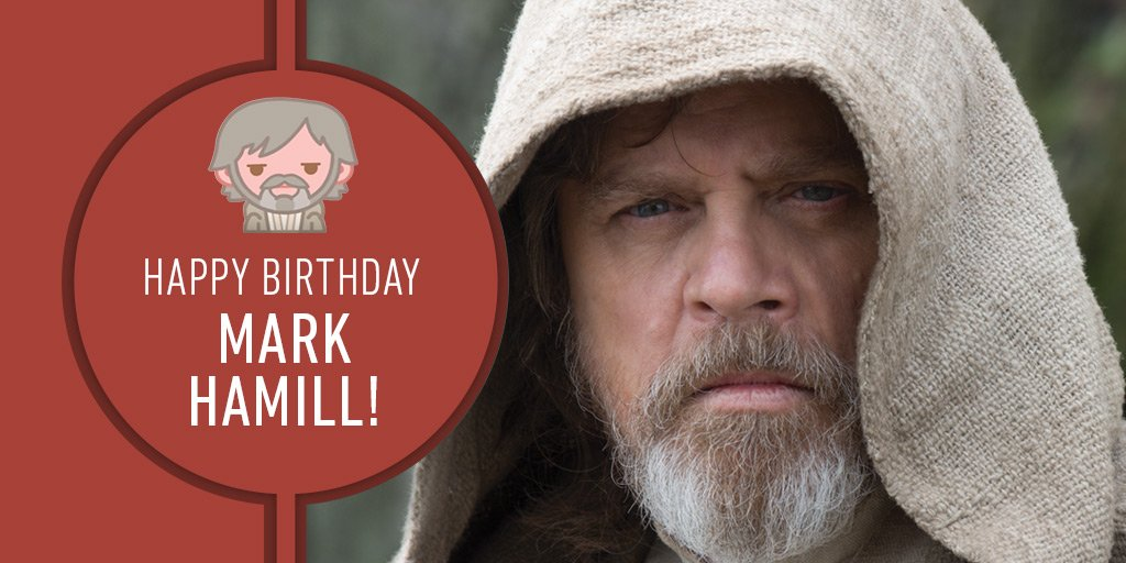 Join us in wishing @HamillHimself a happy birthday strong in the Force!