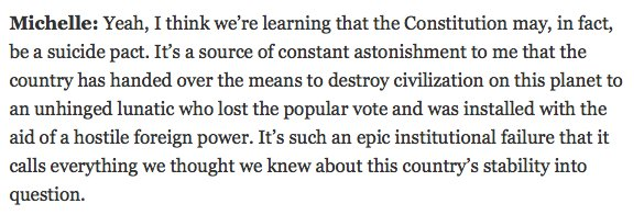 Michelle Goldberg doesn't mince words! Glad to have her on board https...