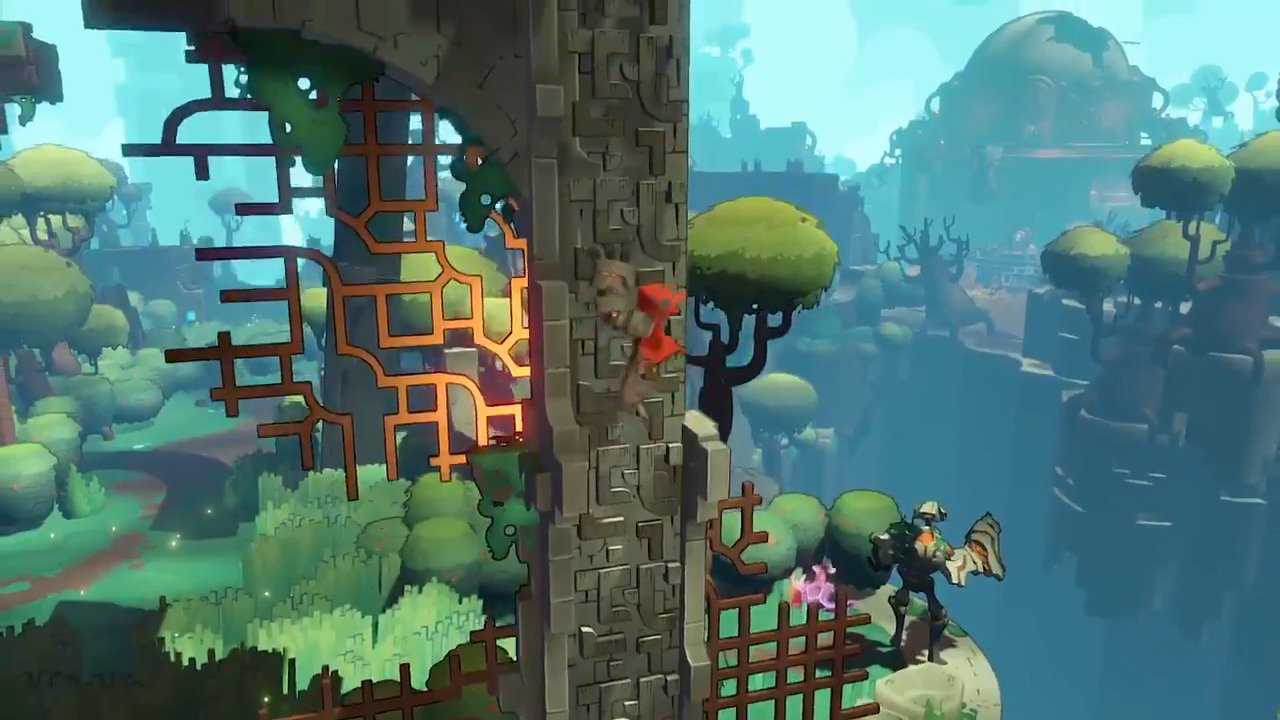 Save a mysterious world in Hob, out tomorrow on PS4: https://t.co/dLD4bQJuVl https://t.co/MjMhAybzLD