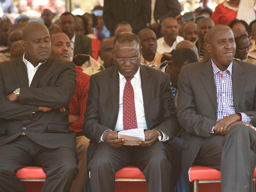 Boycott polls at your own peril, Jubilee Kajiado leaders tell Raila