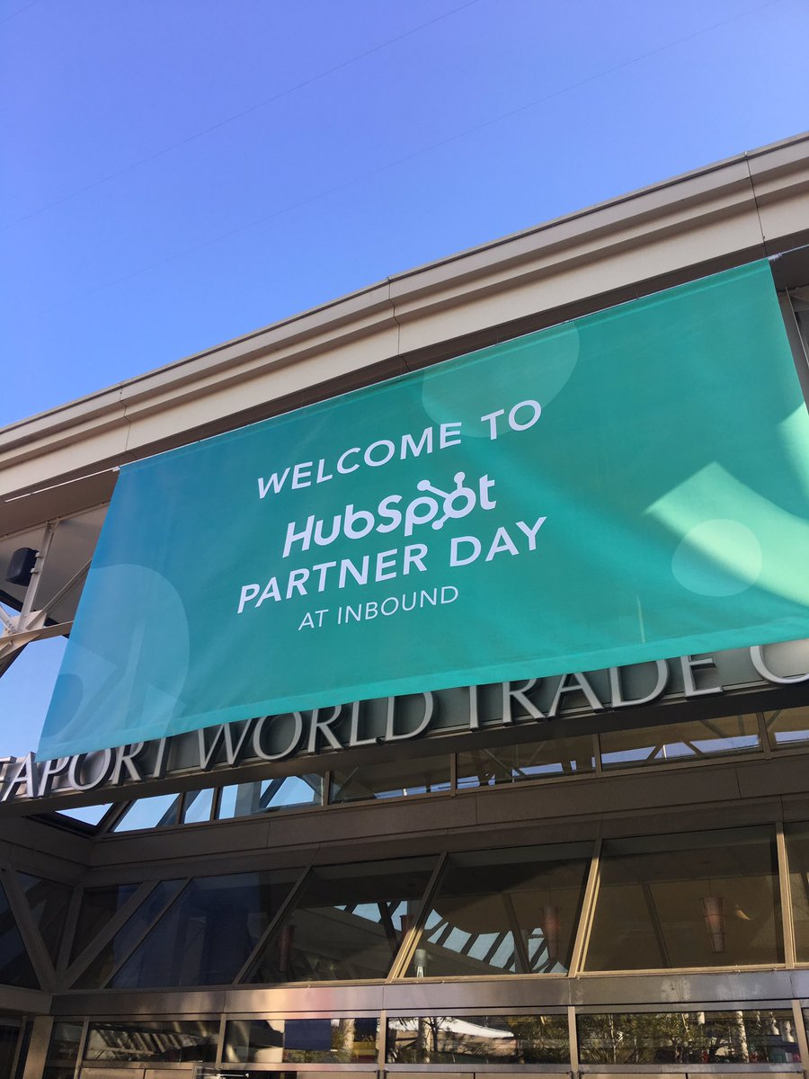 We're fired up and ready for partner day at #INBOUND17! Can't wait to...