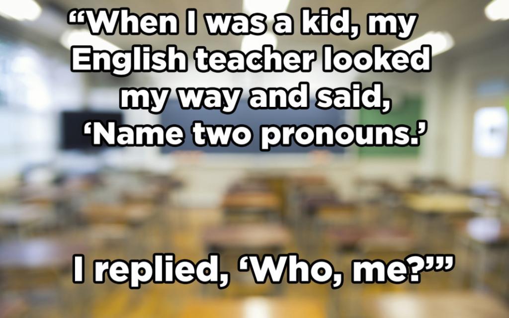 25 Jokes Guaranteed To Make #Grammar Nerds Laugh @Buzzfeed https://t.co/9M2pYCLoRY https://t.co/DXL7nmpYR2