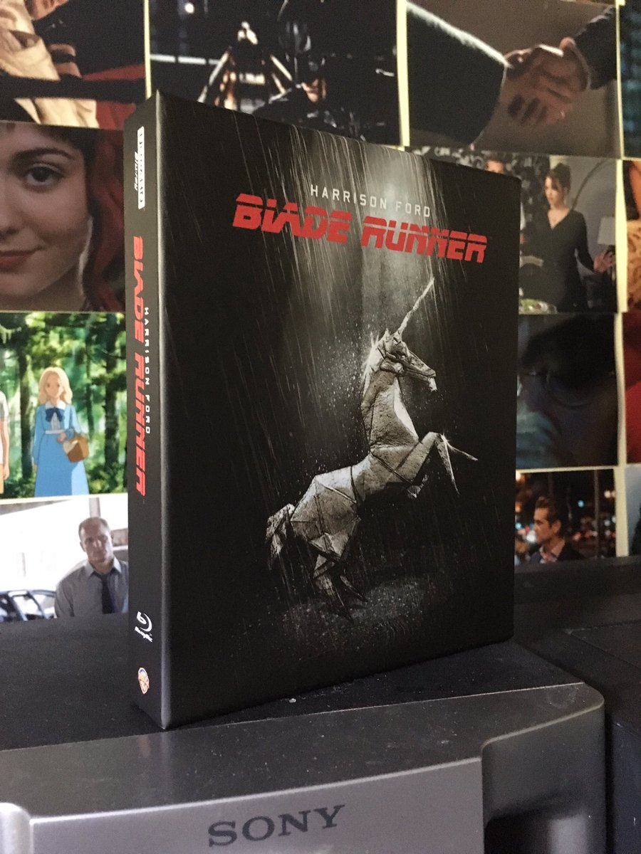 The Blade Runner 4K Special Edition is so pretty. And it's got all the cuts of the film. https://t.co/71CAZIvFFw