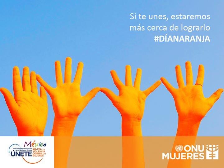 Reconstruyamos un México sin violencia contra las mujeres. #DíaNaranja...