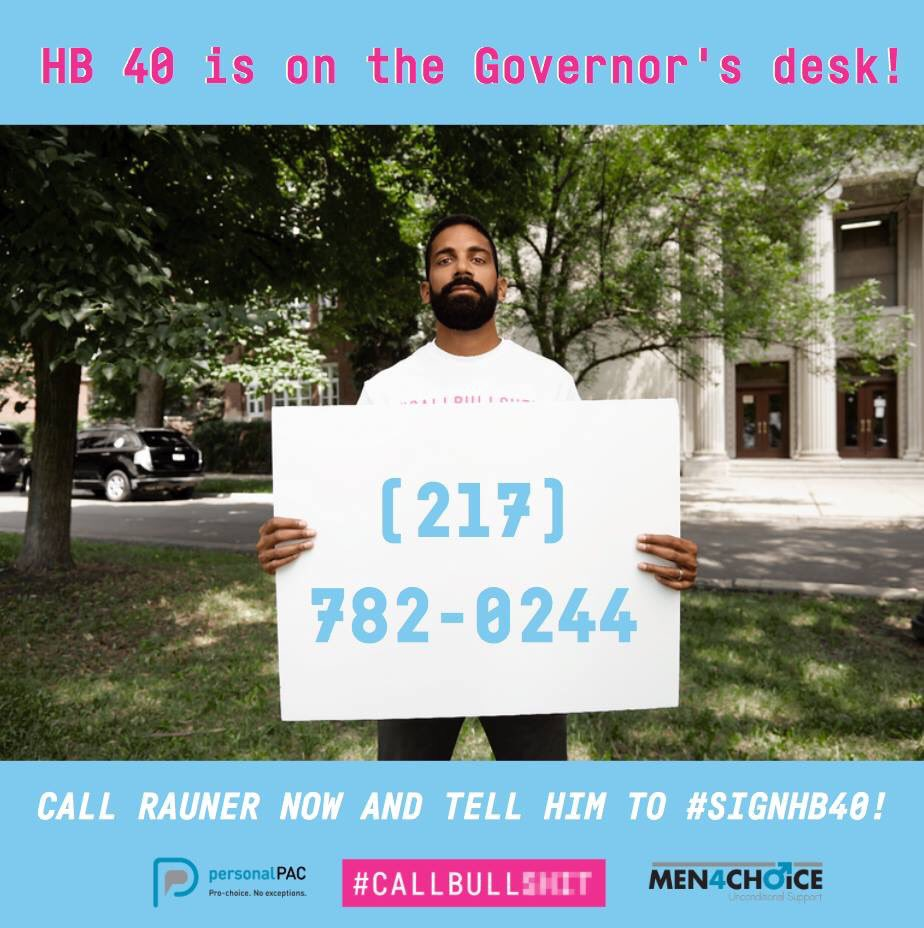 test Twitter Media - HB40 is now on Governor Rauner's desk.  Call Bruce Rauner NOW and tell him to #SignHB40! (217) 782-0244 or (312)814-2121. #CallBullShit https://t.co/0zmyeBditL