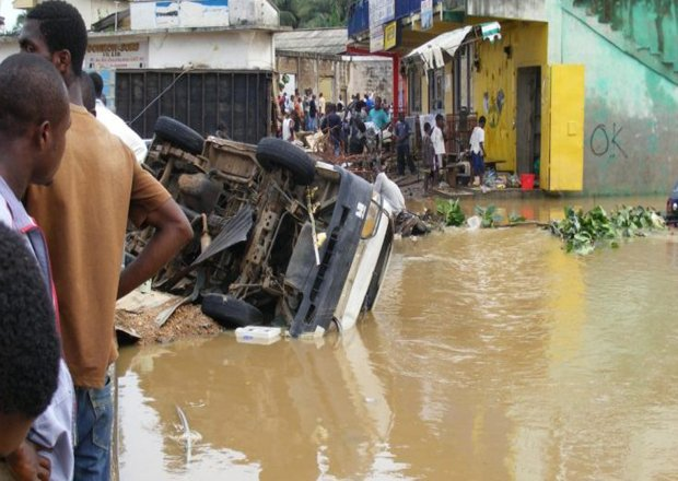 Over 50 Homes Flooded After Heavy Rains In Kumasi