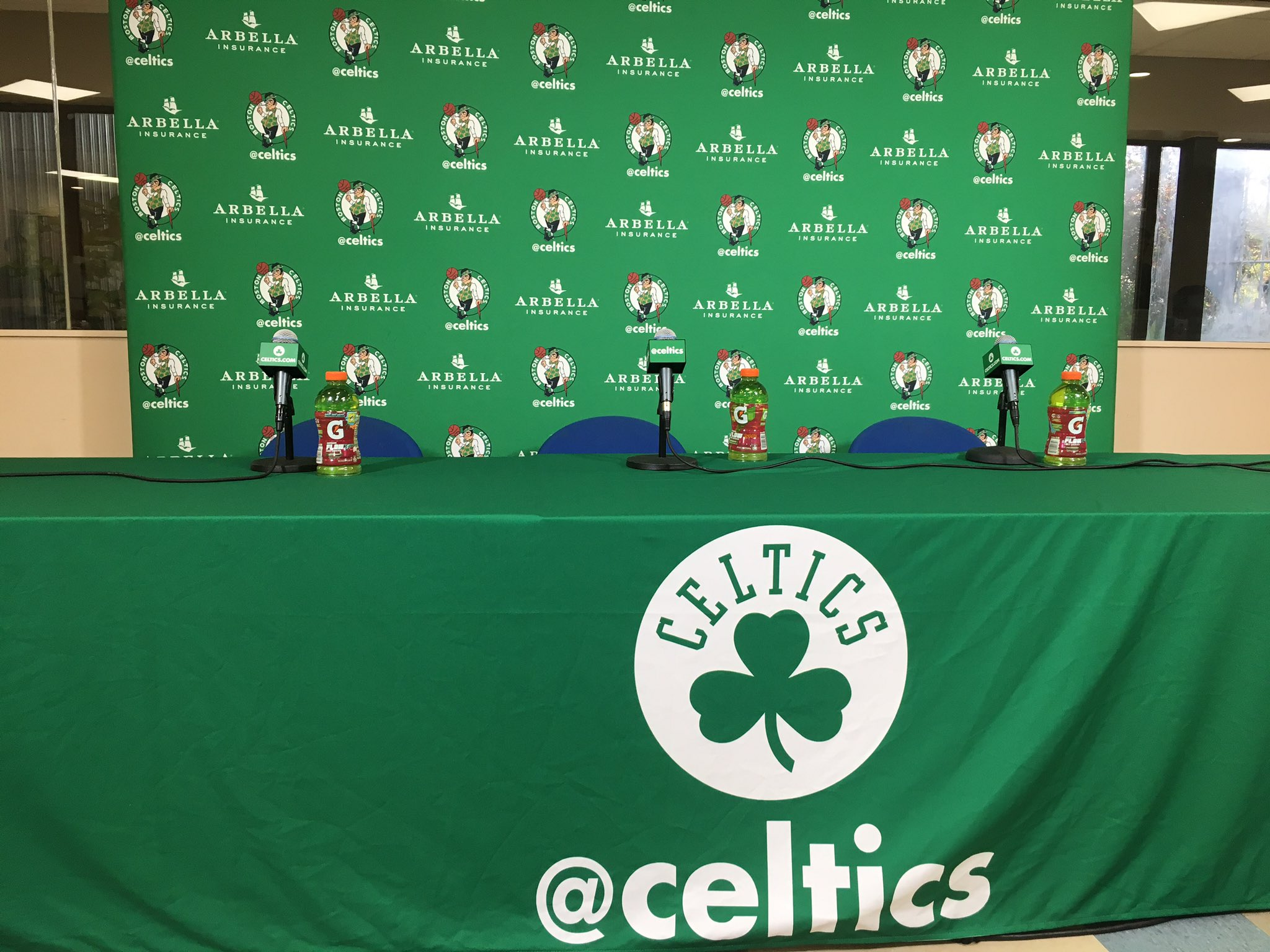 Soon... #CelticsMediaDay live from Boston! #NBAMediaDay https://t.co/AbEITkyZU1