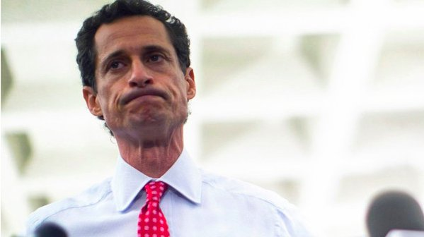 Anthony Weiner has been sentenced to 21 months in prison for sexting a minor: