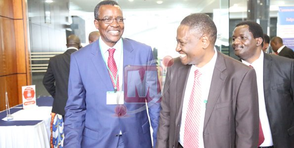 Kenya Chief Justice Maraga main attraction at a meeting in Dar