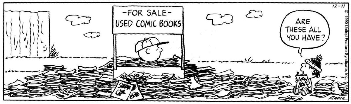 Happy #NationalComicBookDay! 📚This strip was published on December 11,...