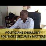 Politicians shouldn't politicize security matters