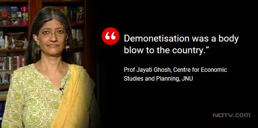 Economic slowdown: BJP worried? | Prof Jayati Ghosh on @OnReality_Check. Watch LIVE here: https://t.co/hMlRpgak2y https://t.co/cCEQLY7ib0