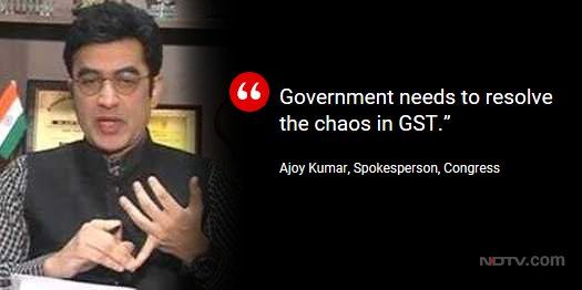 Economic slowdown: BJP worried? | Congress spokesperson @drajoykumar on @OnReality_Check https://t.co/VxoqmzNczM