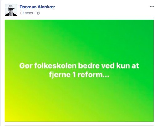 test Twitter Media - Via @RasmusAlenkaer1 på facebook 😂👍 #skolechat #uddpol #dkpol https://t.co/Ablt9WpCfp