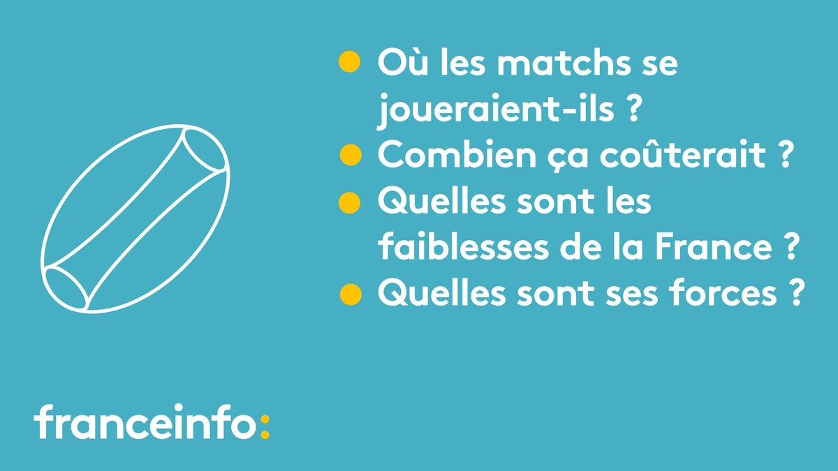 Mondial de rugby 2023 : quatre questions sur la candidature de la France