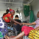 Uganda bus accident survivals arrives
