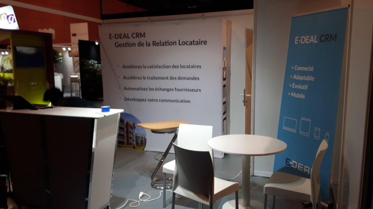 test Twitter Media - E-DEAL en ordre de bataille  (ou presque) #HExpo Rdv Hall 8 I02 @Espacil @habitatdunord  @ActionLogement @Verspieren @Interiale https://t.co/qF2QE97GqA
