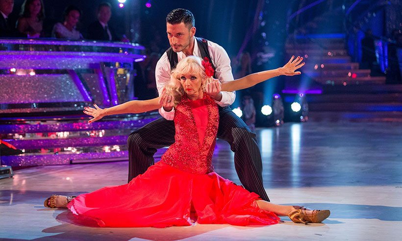 Whoa! Debbie McGee has new betting odds after her amazing @bbcstrictly  debut!