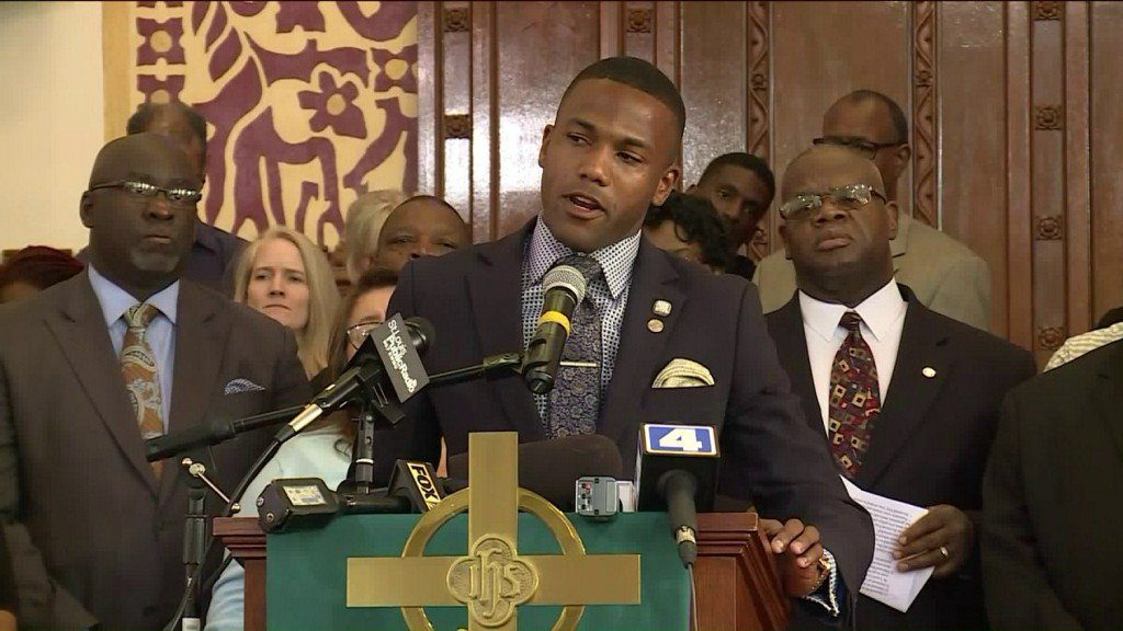 Faith leaders and elected officials speak out about police response to Galleria protest