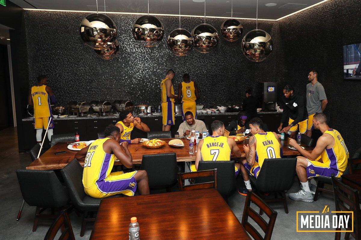 #LakersMediaDay